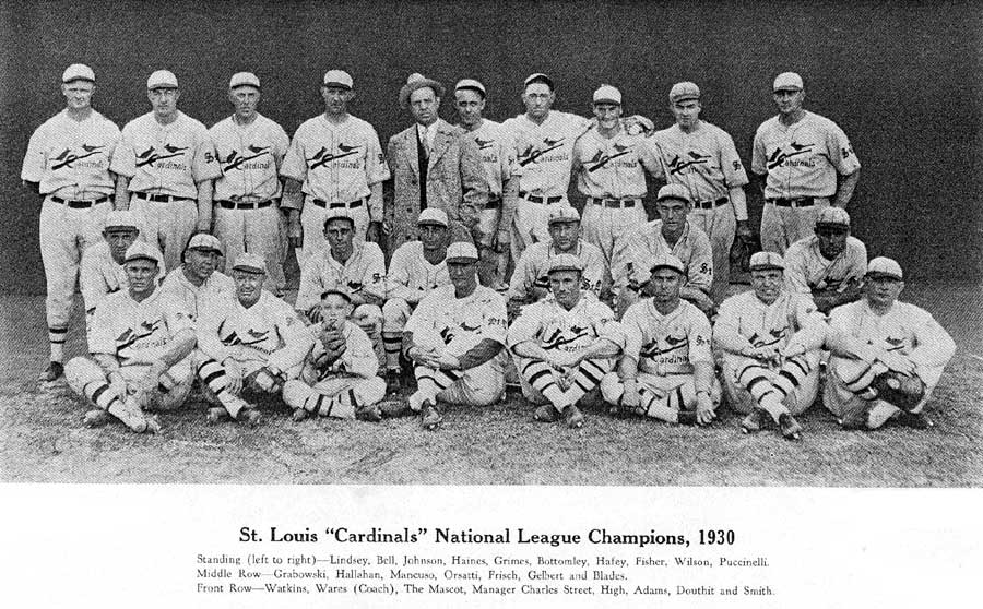 1930 St. Louis Cardinals season