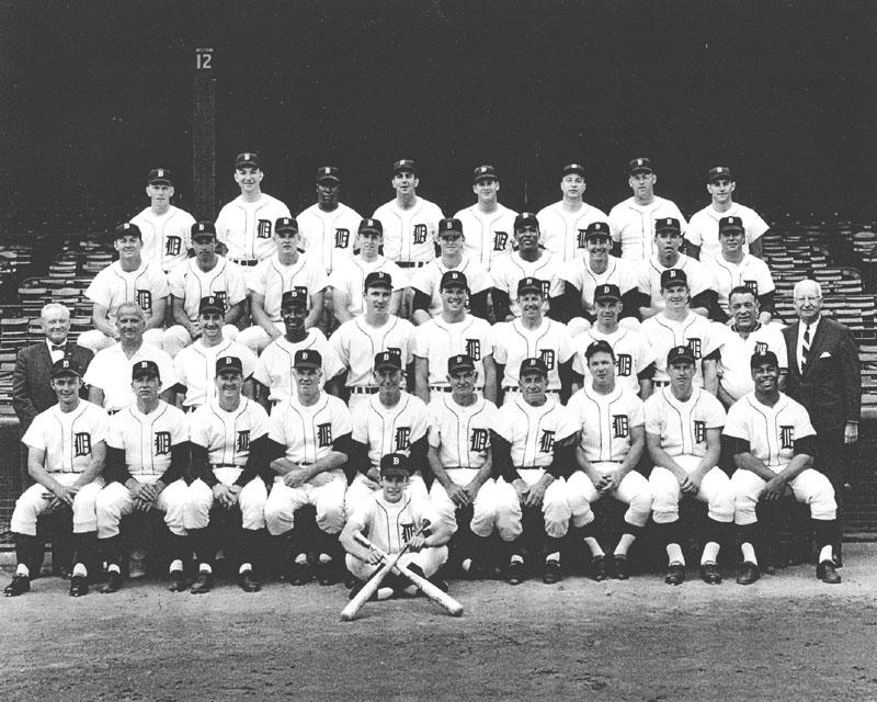 thedeadballera com    1967 detroit tigers team photo