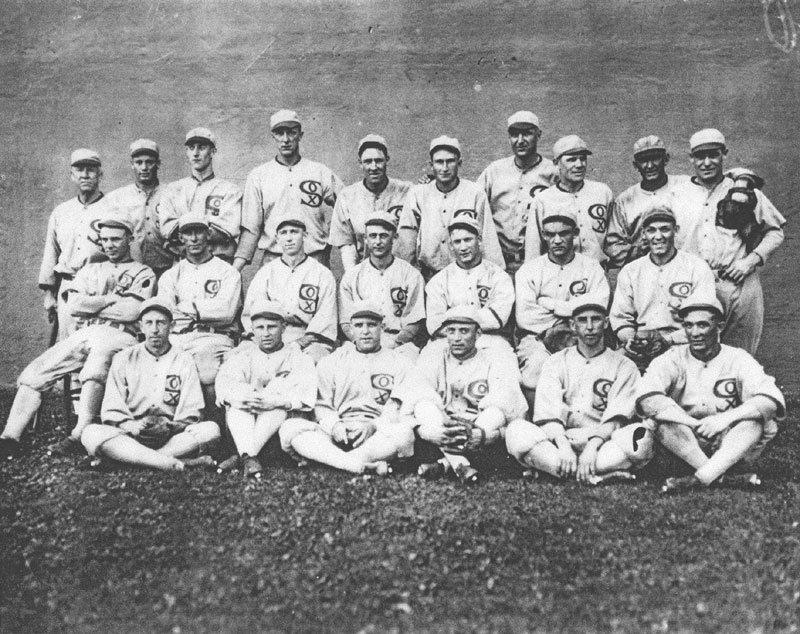 com black sox team photo